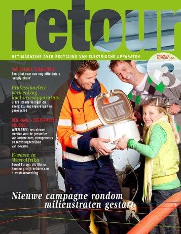 Nieuwe campagne rondom milieustraten gestart - Wecycle