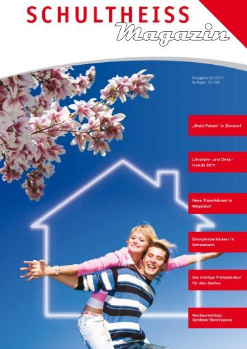schultheiss wohnbau swb magazin 02 2011 ag bautrager nurnberg