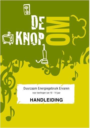 HANDLEIDING - Het Groene Wiel