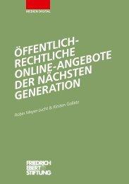 Öffentlich-rechtliche Online-Angebote der nächsten Generation
