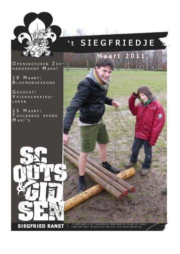 26 maart - Scoutingranst