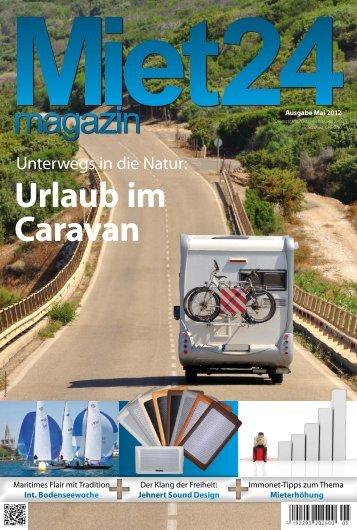 Urlaub im Caravan