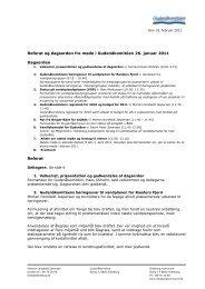 Klik her for at se referat fra møde 26. januar 2011 (PDF)