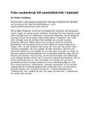PDF-fil - Arbetarrörelsens Arkiv i Landskrona