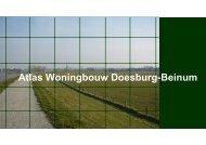 Atlas Woningbouw Doesburg-Beinum - Gemeente Doesburg