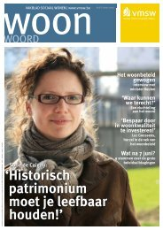 Woonwoord nr 8 - Vlaamse Maatschappij voor Sociaal Wonen