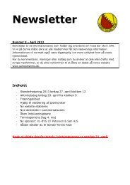 Newsletter april 2013 - Solrød Tennis Klub