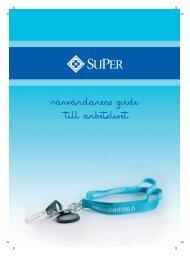 Närvårdarens guide till arbetslivet - Superliitto