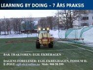 Egil Ekrehagen_CMA pa fotballbaner - Bad, Park og Idrett