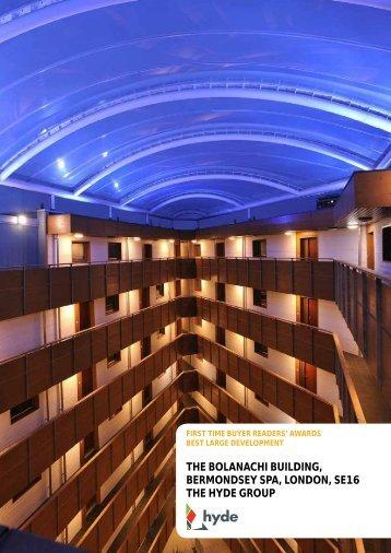 the bolanachi building, bermondsey spa, london, se16 the hyde group