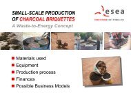 Processes and business ideas for charcoal briquette production in ...