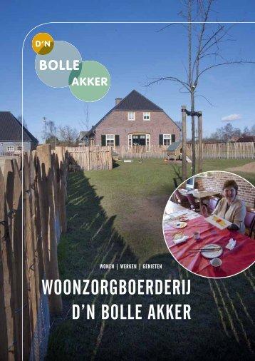WOONZORGBOERDERIJ D'N BOLLE AKKER - Joris Zorg
