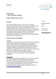 Statusnotat 2012-2013 - Guldborgsund Kommune