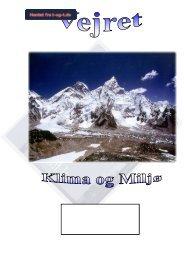 Fag: Fysik Tema: Klima og Miljø