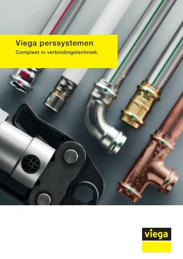 Brochure Viega perssystemen