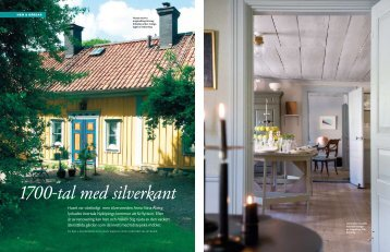 Article for swedish magazine Gods & Gårdar about ... - john werich