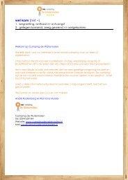 overzicht en prijzen - Camping de Watermolen