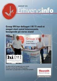 113309 Erhvervsinfo 3. kvartal 2011.indd - Group VH A/S