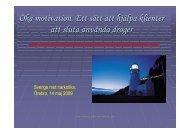 Sverige mot narkotika 2009.pdf - Farbring