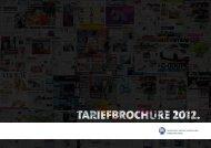 1 |TARIEFBROCHURE 2012 - TMG adverteren