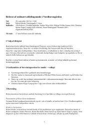 Referat af afdelingsmødet den 20. september ... - Nordhavnsgården