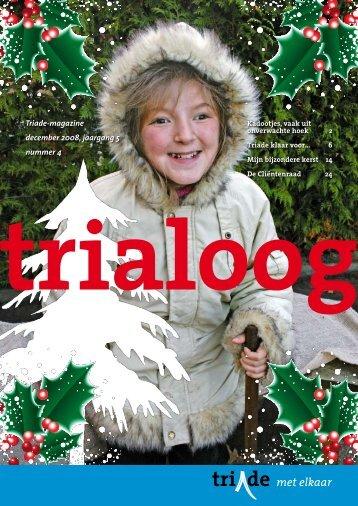 Triade-magazine december 2008, jaargang 5 nummer 4