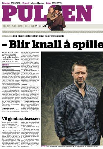 Vil gjenta suksessen - Festspillene i Bergen