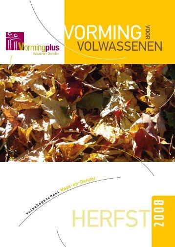Downloaden - Vormingplus Waas-en-Dender