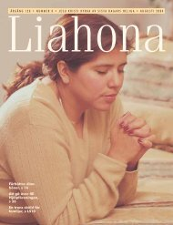 Augusti 2004 Liahona