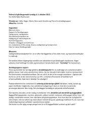 Referat af gårdlaugsmøde torsdag d. 4. oktober 2012 ... - ChiliProject