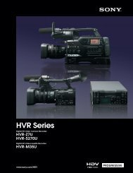HVR-Z7U HVR-S270U