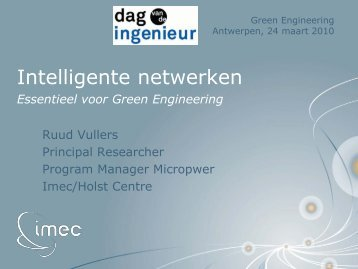 Intelligente netwerken - the Rambla Demo Site