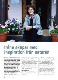 36 Irene inspireras av naturen - Välkommen till ...