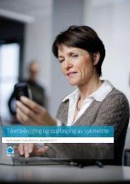 Tilrettelegging og oppfølging av sykmeldte - Idebanken