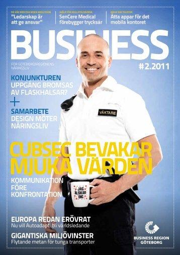 # 2.2011 - Business Region Göteborg