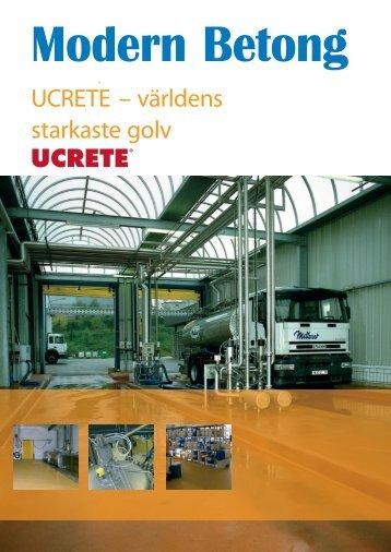 UCRETE – världens starkaste golv - RBM Industrigolv
