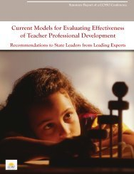 Current Models for Evaluating Effectiveness of Teacher Professional ...