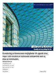 Revisionsrapport nr 1, 2007 - Åstorp