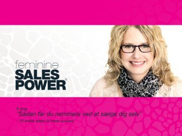 Læs mere - Feminine Sales Power