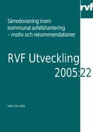motiv och rekommendationer - Avfall Sverige