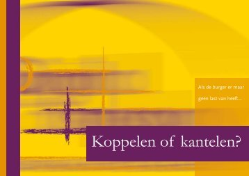 Koppelen of kantelen? - Digital
