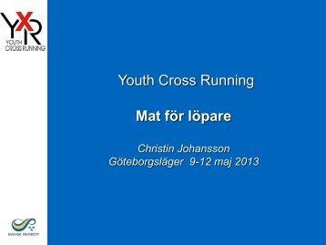 Mat för unga löpare 130511