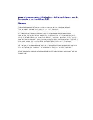 FKB - Groothandel in Levensmiddelen