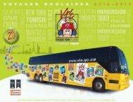 Télécharger la brochure - Voyages Tour Etudiant