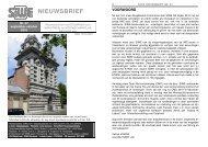 Nieuwsbrief nr: 57 september-oktober 2010 - Siwe