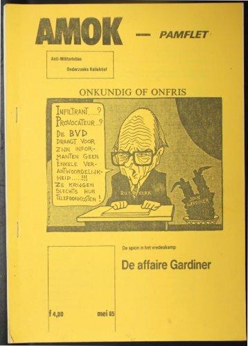 De affaire Gariner - Buro Jansen & Janssen