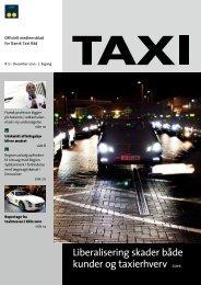 Liberalisering skader både kunder og taxierhverv ... - Dansk Taxi Råd