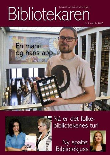 En mann og hans app - Bibliotekarforbundet