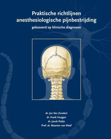Praktische richtlijnen anesthesiologische pijnbestrijding
