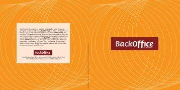 BackOffice Scandinavia består av fyra delar: konsultdelen som är ...